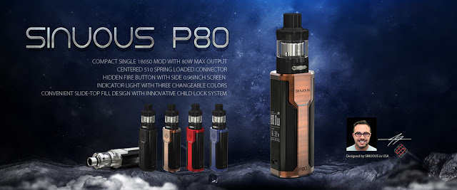 Wismec SINUOUS P80 Kit – AtouchMall Blog
